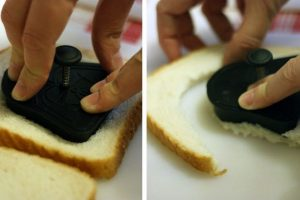 Cómo hacer un sandwich con cortador de galletas