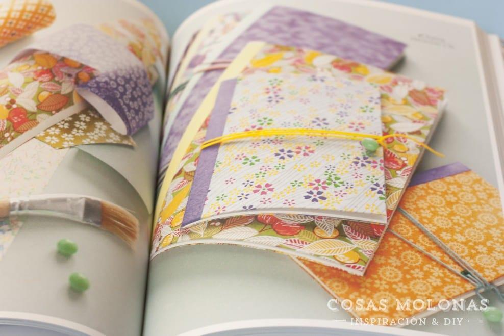 """Reseña """"Craft con papel japonés"""" de Adeline Klam"""