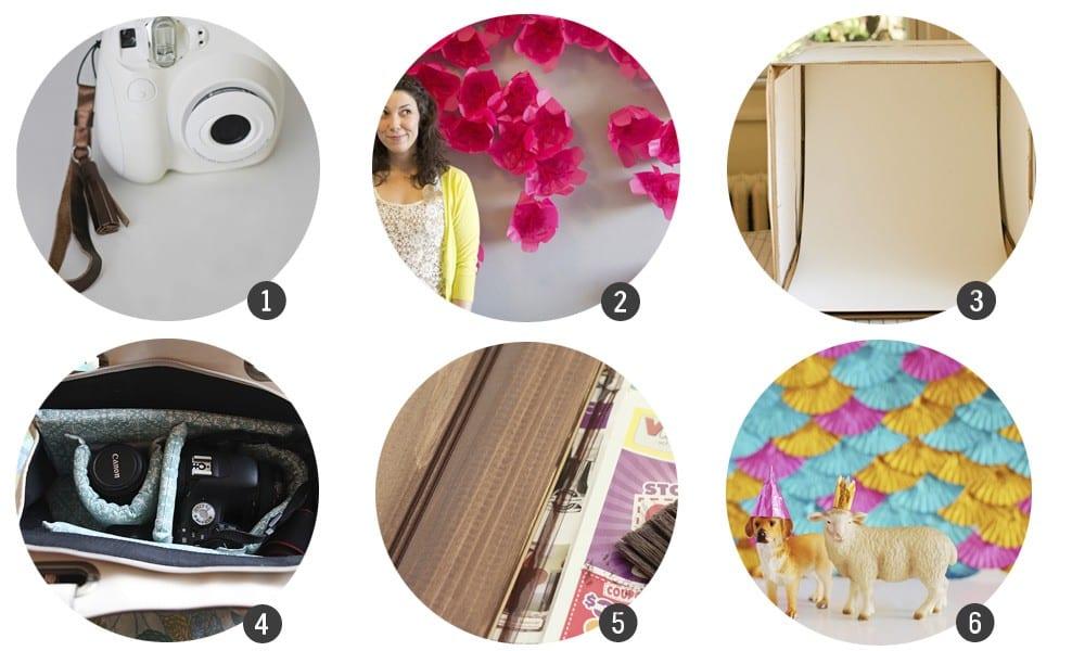 24 DIY para amantes de la fotografía, por Cosas Molonas Blog