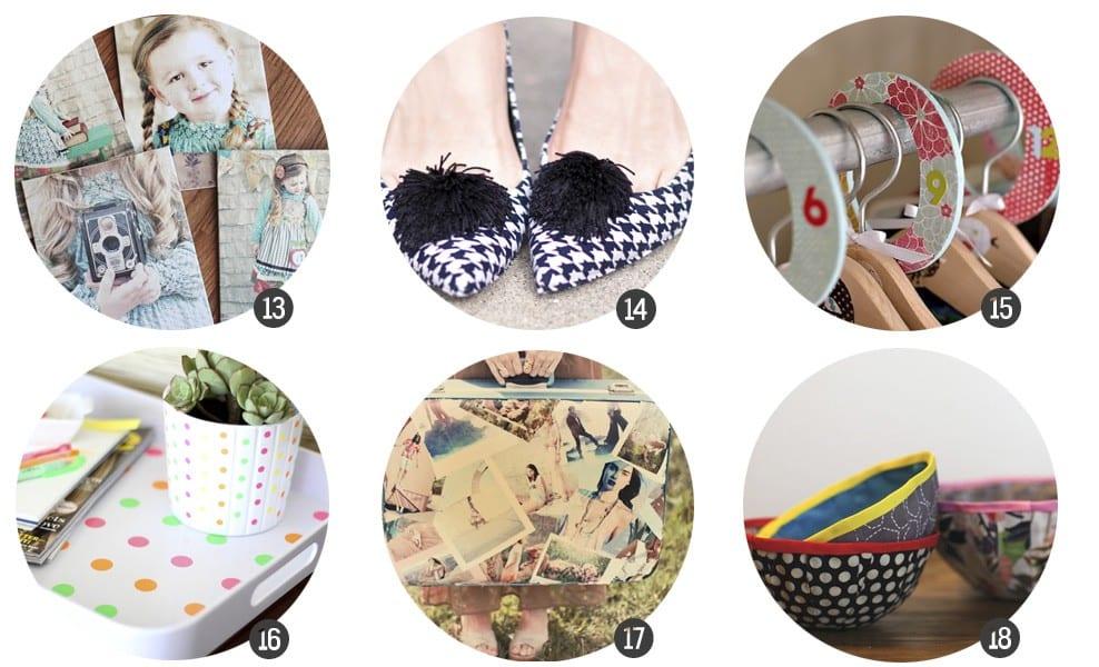 24 DIY con Mod Podge en www.cosasmolonas.com
