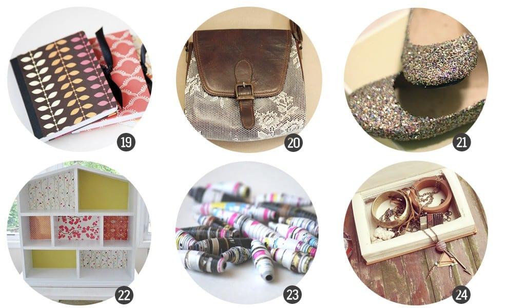 24 DIY con Mod Podge, en Cosas Molonas Blog