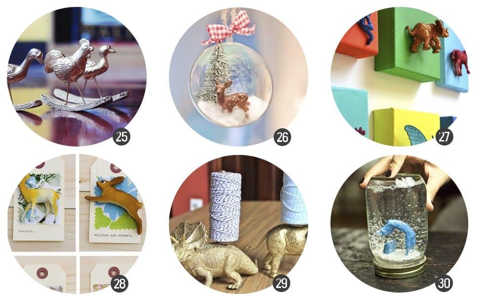 Tendencias DIY: animales de plástico en www.cosasmolonas.com