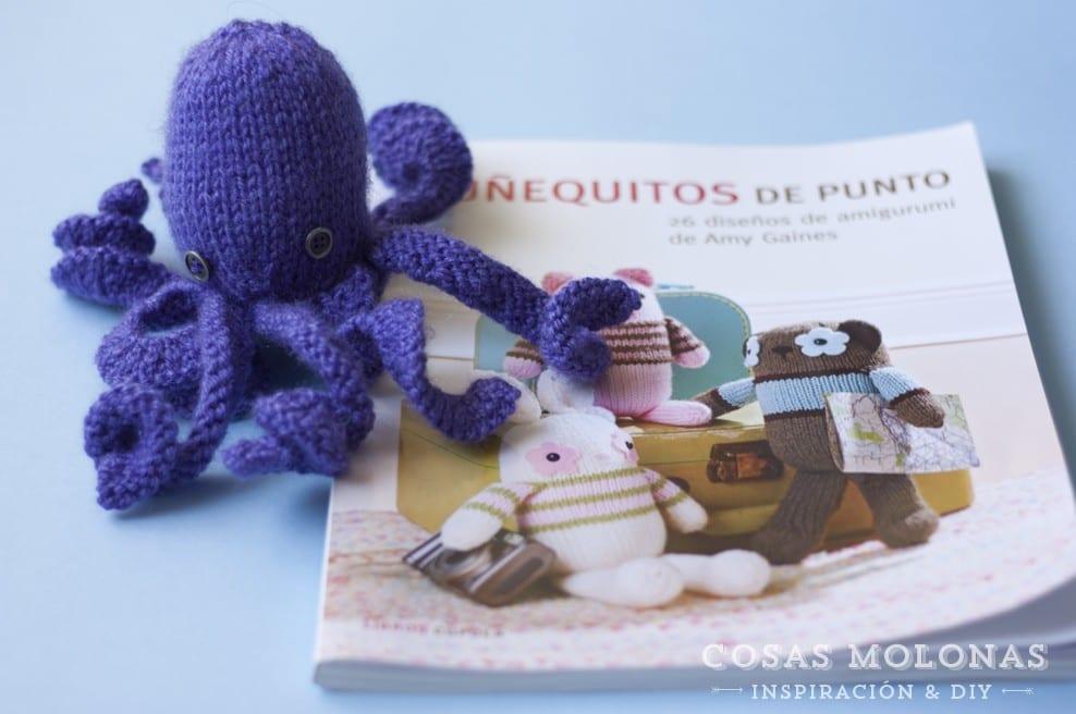"""Reseña """" Muñequitos de punto"""" de Amy Gaines en blog.cosasmolonas.com"""
