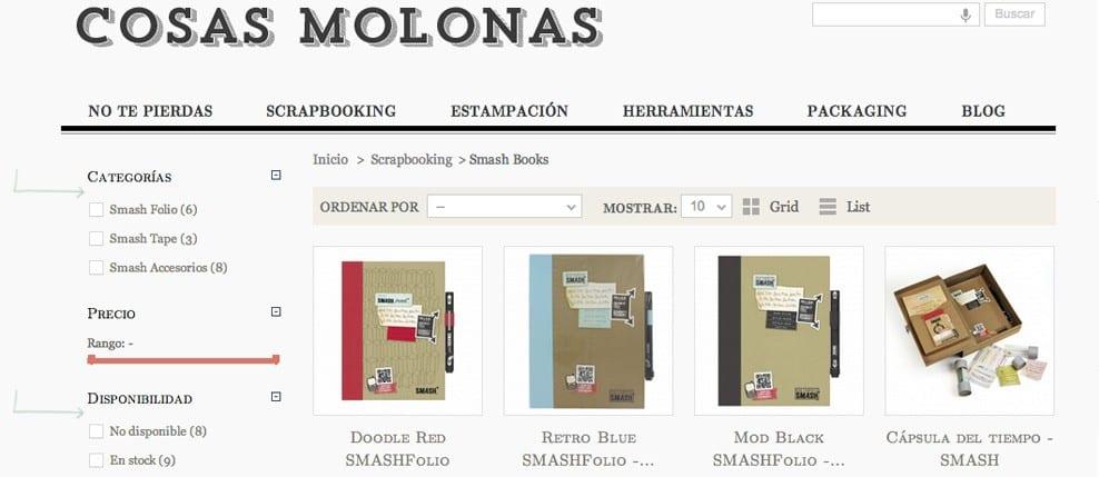 Nuevo diseño en www.cosasmolonas.com