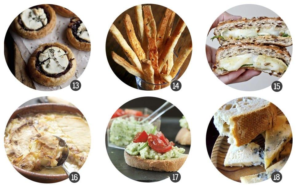30 bocados de queso en blog.cosasmolonas.com