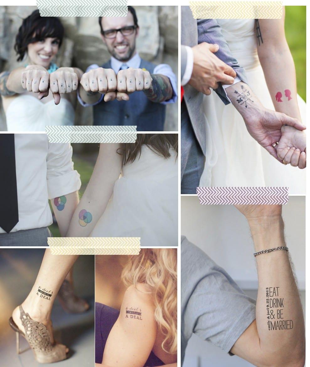 Bodas. Barra de tatuajes temporales en blog.cosasmolonas.com
