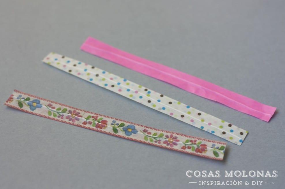 Como hacer alambres con washi tape