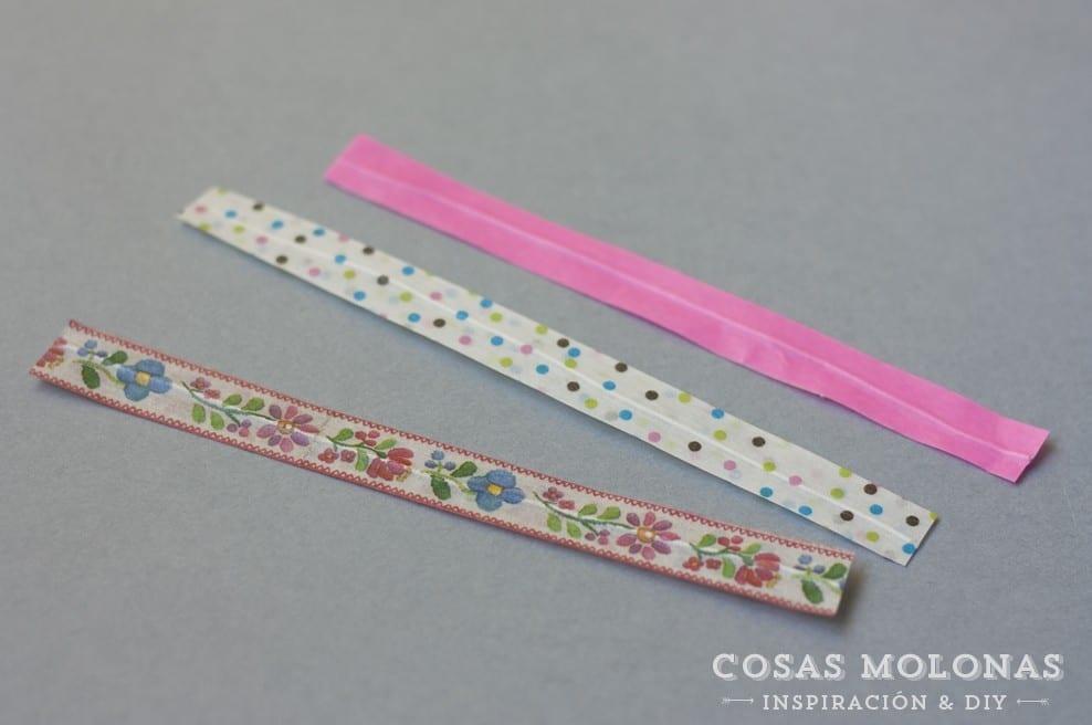 DIY clásicos de washi tape #14: ataduras de alambre