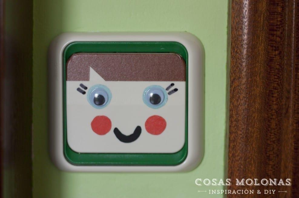 Diy cl sico de washi tape 11 interruptor de la luz infantil cosas molonas diy blog - Interruptores clasicos ...