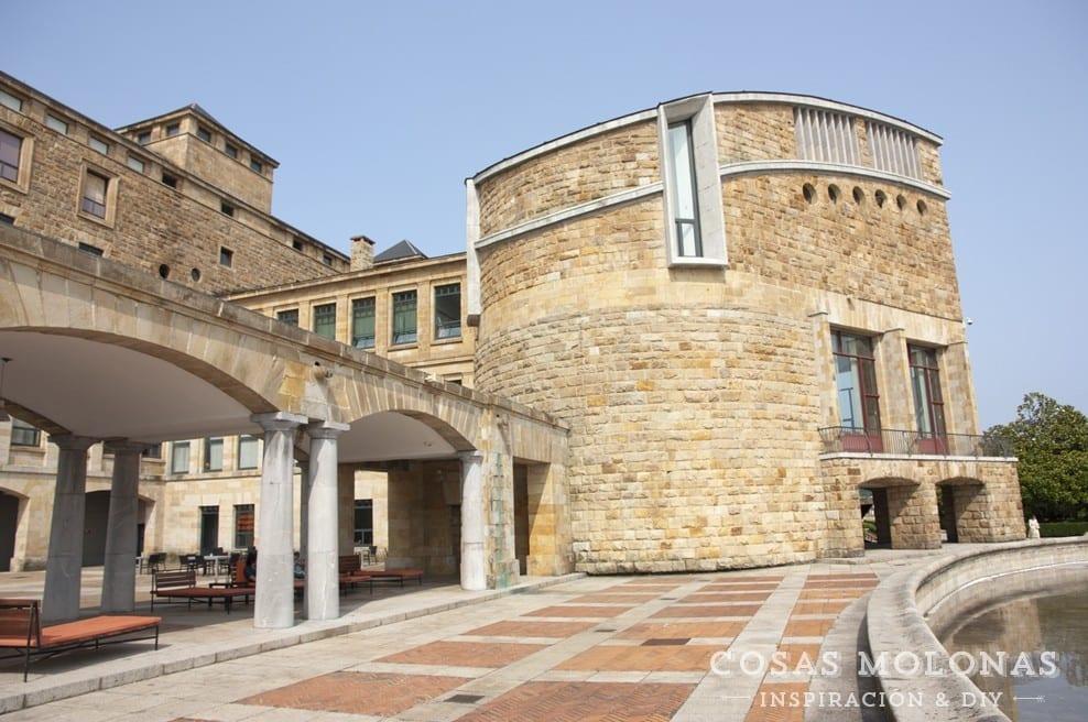 Planes con niños: La terraza de la Laboral en Gijón