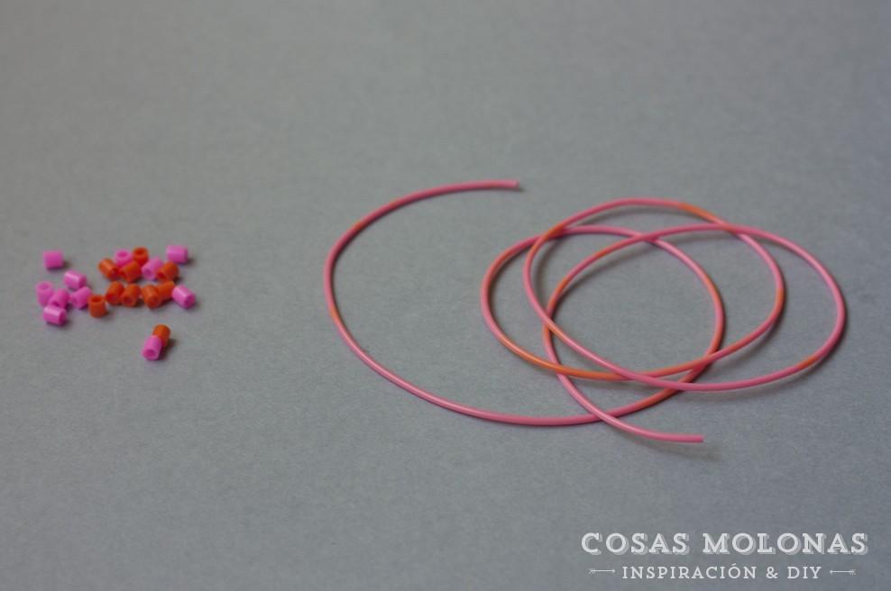 DIY Pulsera de la amistad con pyssla / DIY Friendship bracelet with pyssla