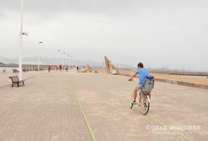 Ruta en bici por Gijón
