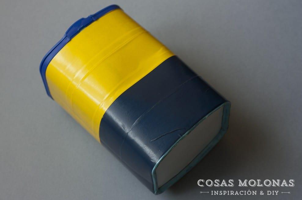 DIY Envase para guardar las pilas para reciclar #reciclar #recycle