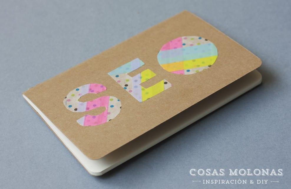 DIY Clásicos de washi tape #16: Siluetas o letras para decorar