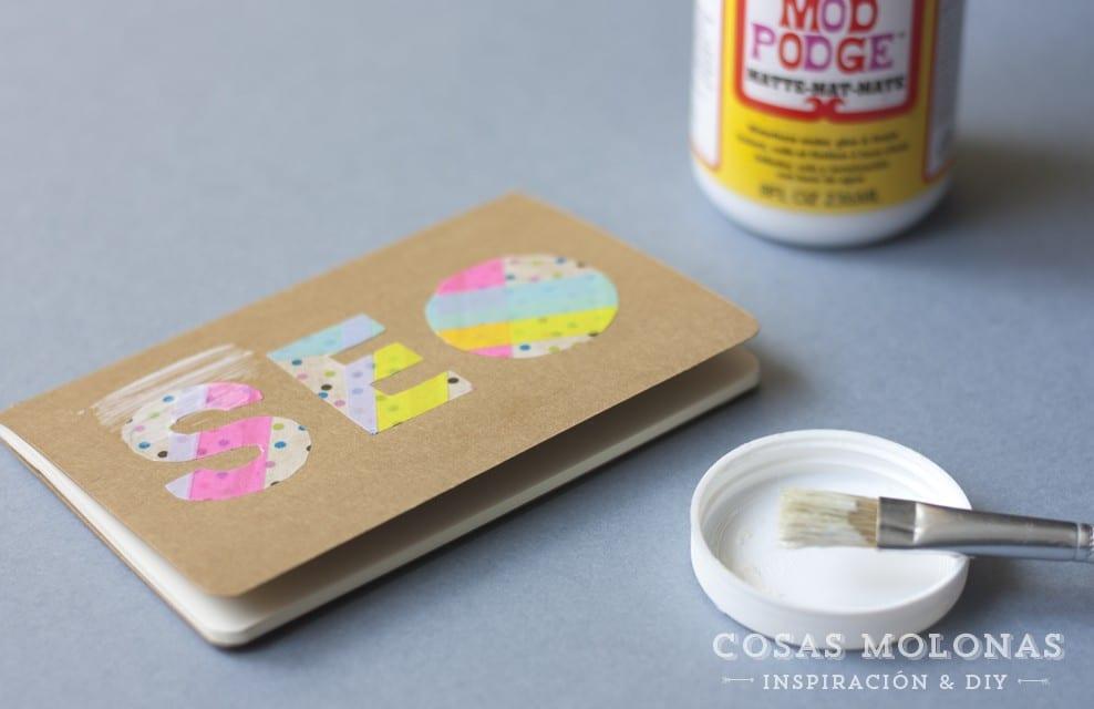 DIY Clásicos de washi tape num. 16: Siluetas o letras para decorar