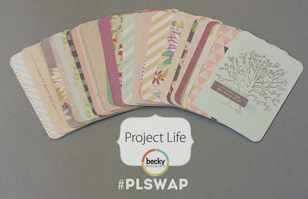 ¿Te apuntas a un SWAP de Project Life? [Edición cerrada]