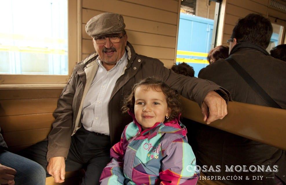 Planes con niños: Jornadas del Vapor en el Museo del Ferrocarril de Asturias