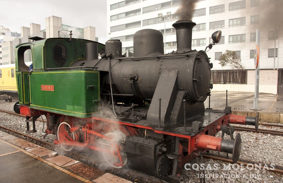 Planes con niños: Jornadas del Vapor en el Museo del Ferrocarril de Asturiasde Asturias