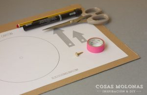materiales-diy-reloj