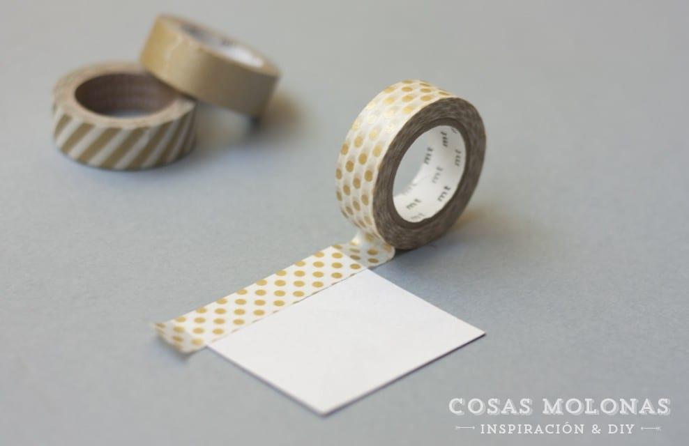 DIY Clásicos de washi tape número 17: imanes