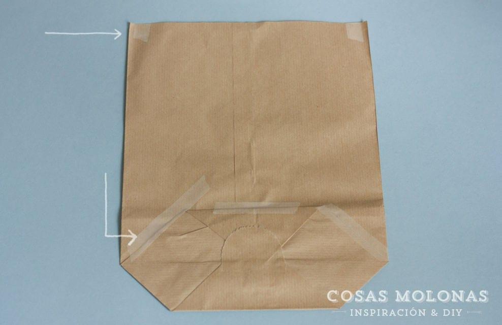 Cómo imprimir una bolsa kraft