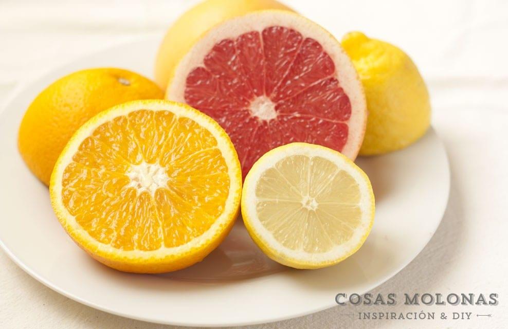 """Receta: Granizado de naranja y pomelo hecho con """"Crea Granizados"""" + ¡Sorteo!"""