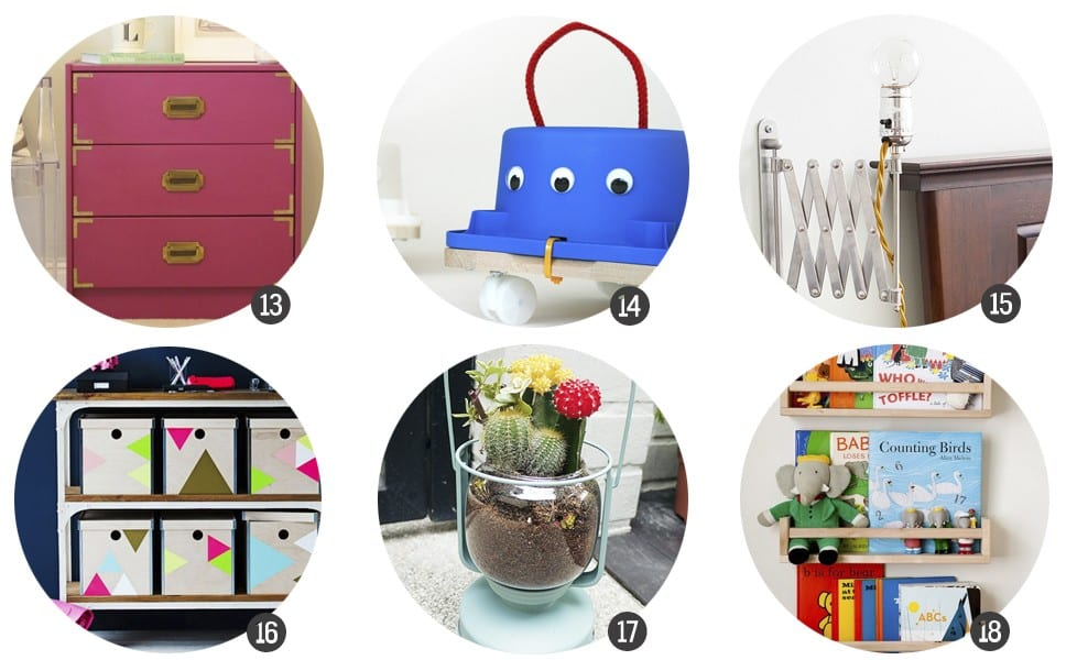 IKEA Hacks: 18 DIYs para customizar muebles de Ikea