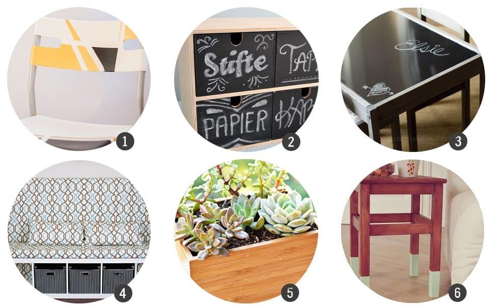 Ikea hacks 18 diys para customizar muebles de ikea for Como tunear muebles de ikea