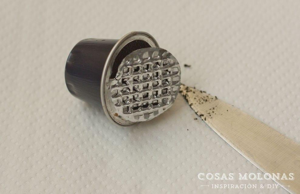 Cómo limpiar las cápsulas de café para reciclarlas