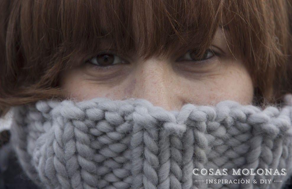 Reseña: Kit de bufanda «Empire Snood» de We are knitters (SORTEO CERRADO)