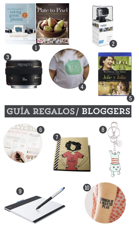 Guía de regalos: 10 regalos para bloggers