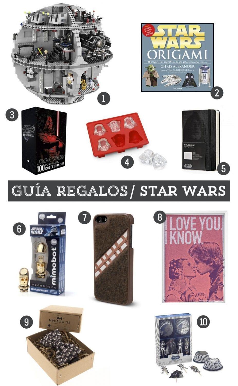Guía de regalos: 10 regalos para un fan de Star Wars