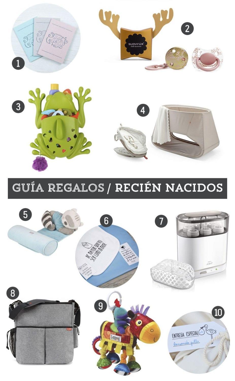 Guía de regalos: 10 detalles para recién nacidos