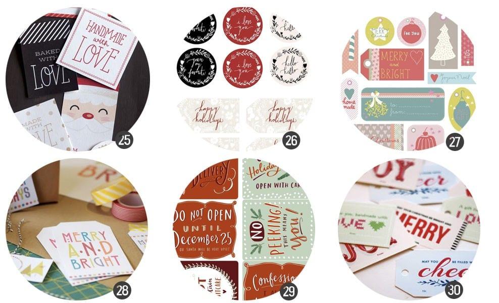 Etiquetas de regalo para imprimir gratis | Cosas Molonas | DIY blog