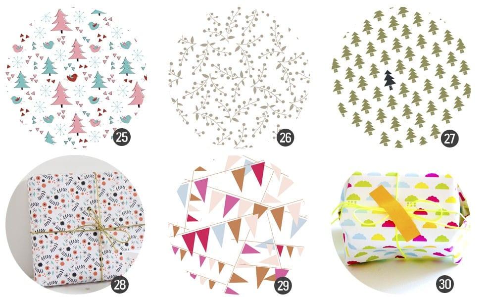 Papeles de regalo para imprimir gratis | Cosas Molonas | DIY blog