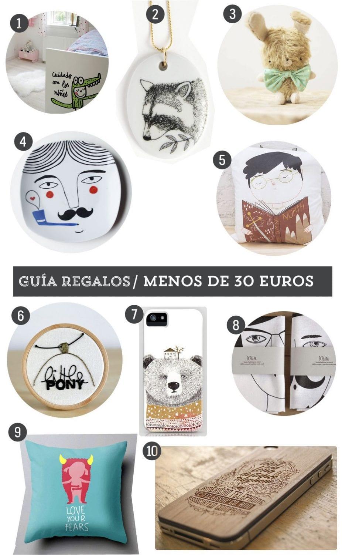 Guía de regalo: 10 regalos handmade por menos de 30 euros