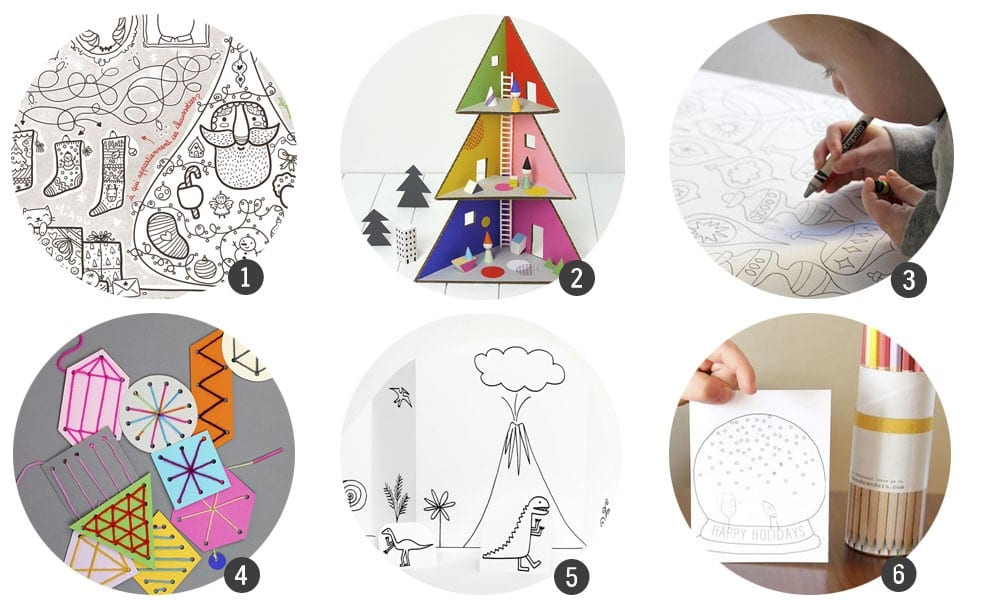 18 imprimibles para aprender y jugar estas Navidades
