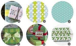 tonos-verdes-papel-regalo-gratis