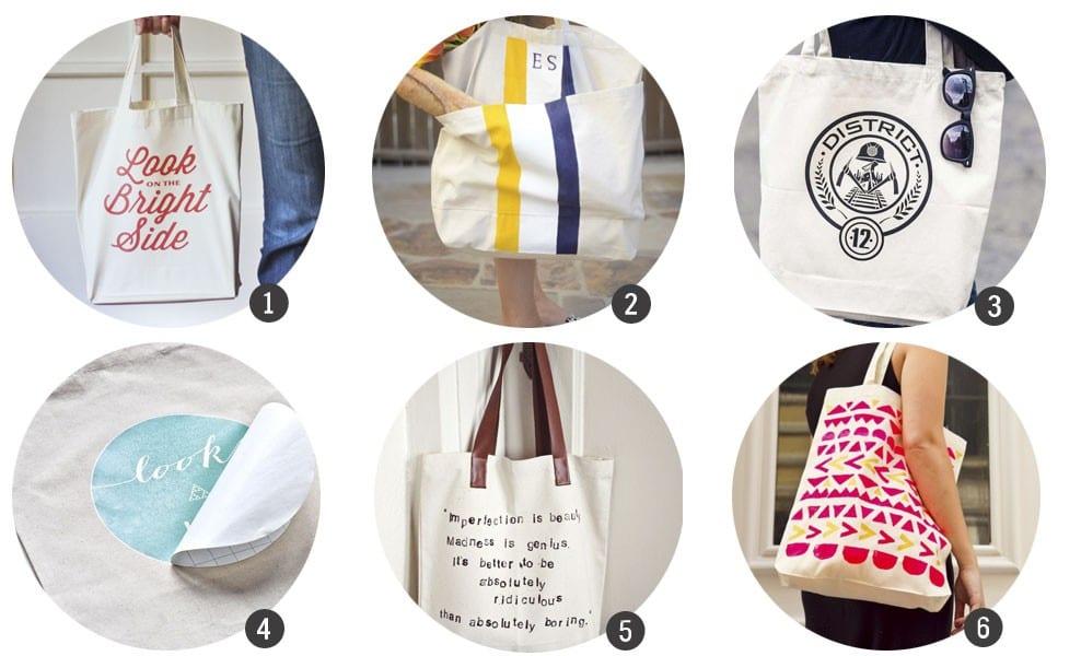 Cómo hacer una tote bag personalizada