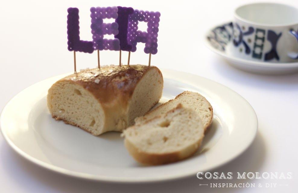 DIY Toppers para tartas y cupcakes con pyssla