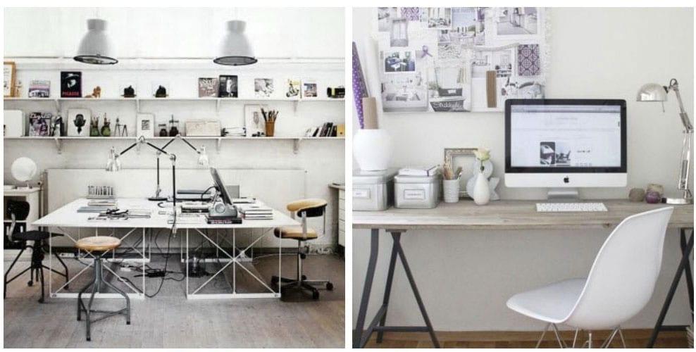 Inspiración: Como decorar una oficina o craft room