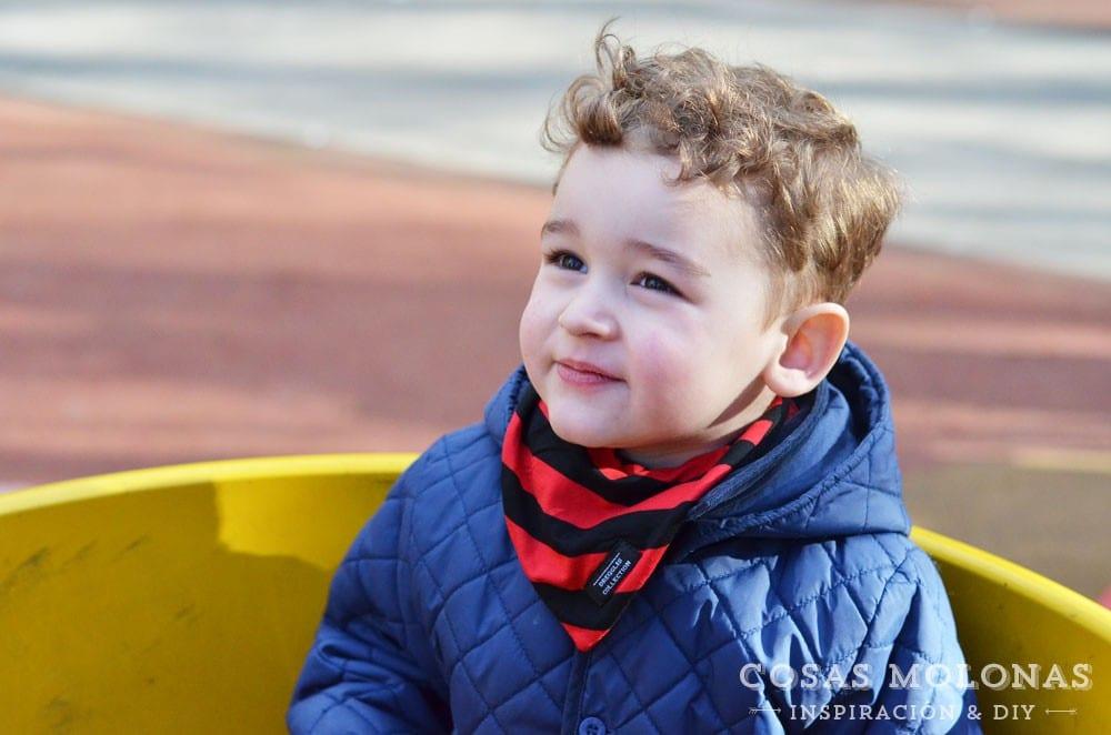 Reseña: Baberos quita-babas para bebés de Peques Guapos