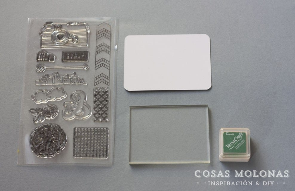 Cómo usar clear stamps