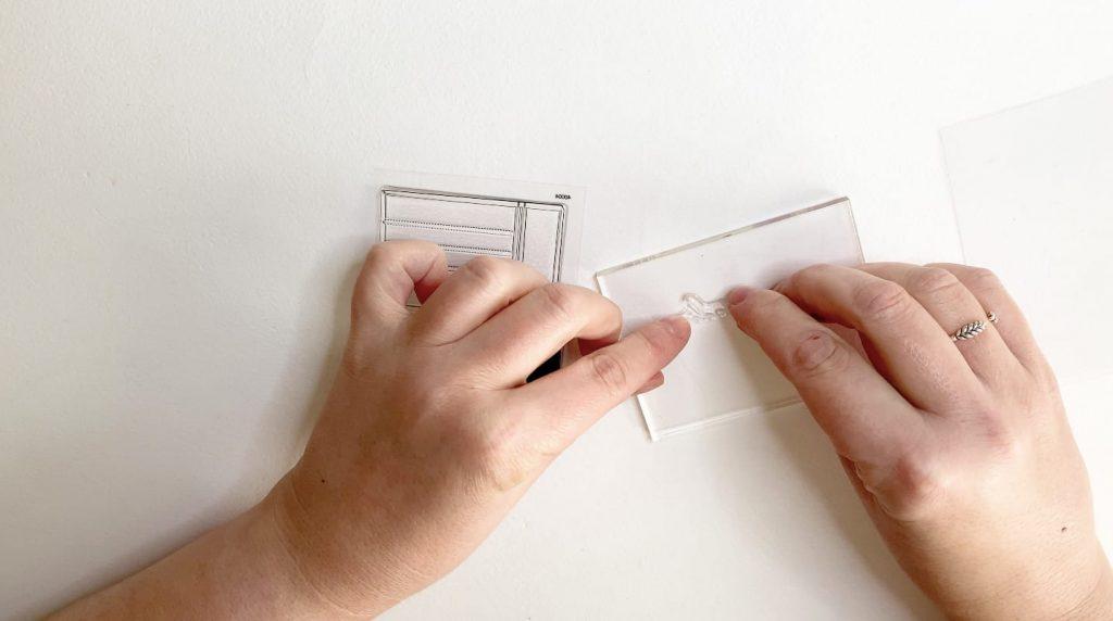Cómo estampar sellos acrílicos