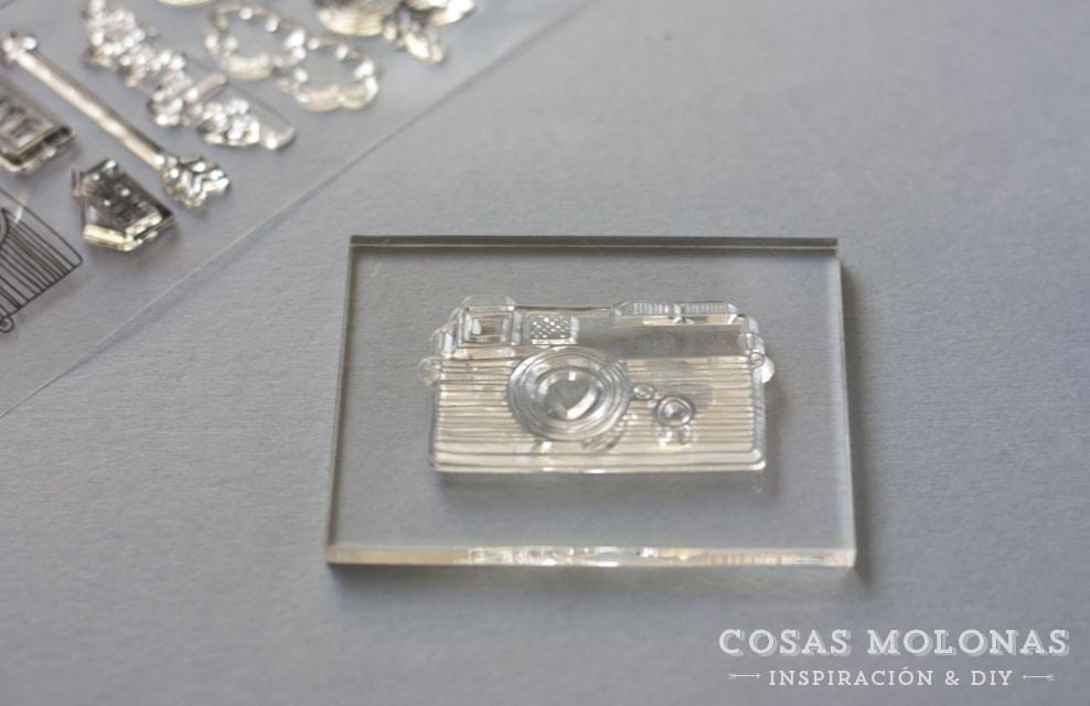 Cómo usar clear stamps o sellos acrílicos
