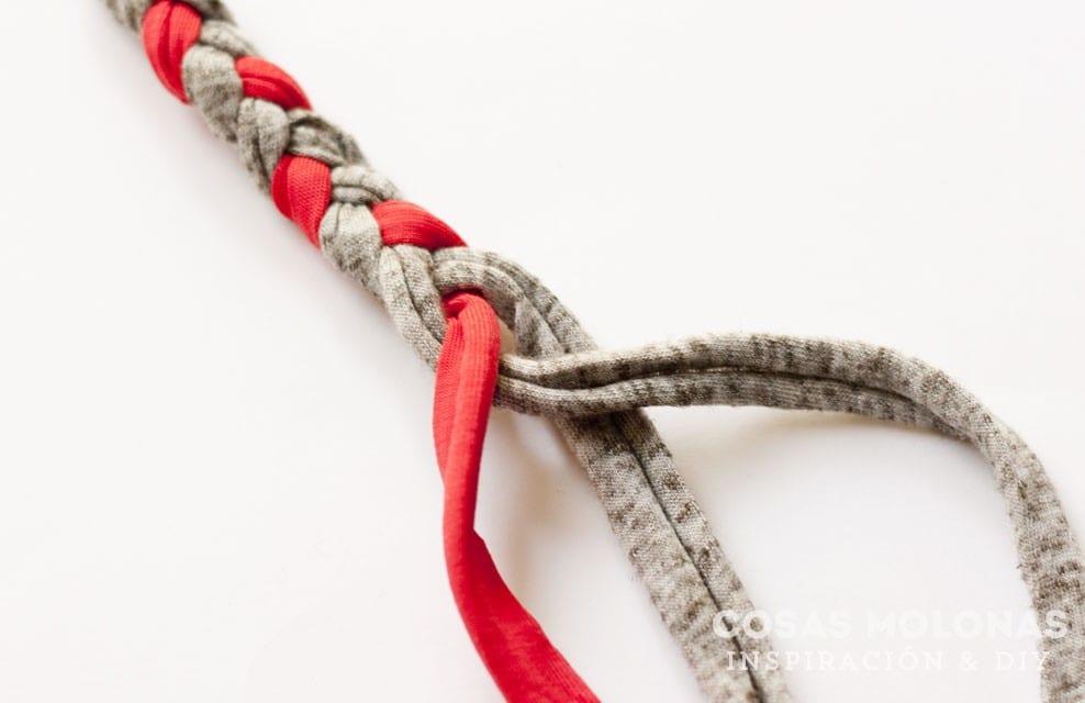 DIY Posavasos o salvamanteles de trapillo (sin saber ganchillo)