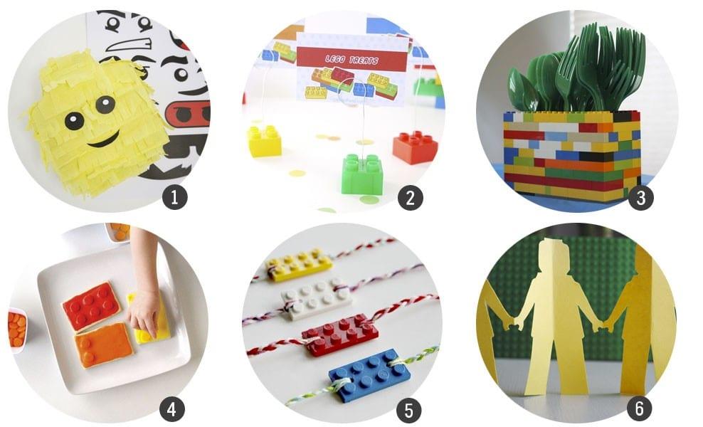 30 recursos para celebrar una fiesta inspirada en LEGO