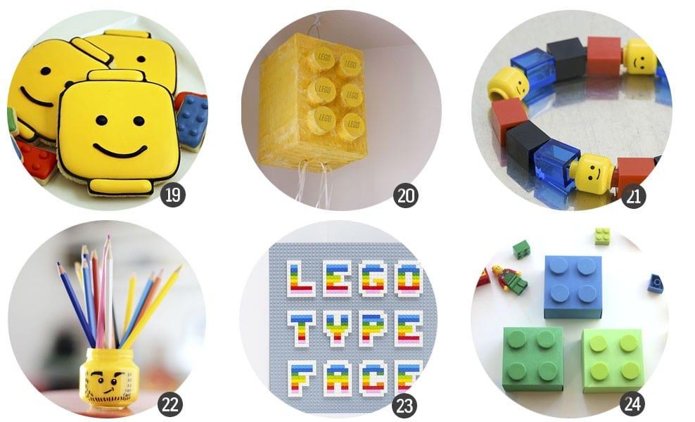 30 recursos para celebrar una fiesta inspirada en LEGO / blog.cosasmolonas.com