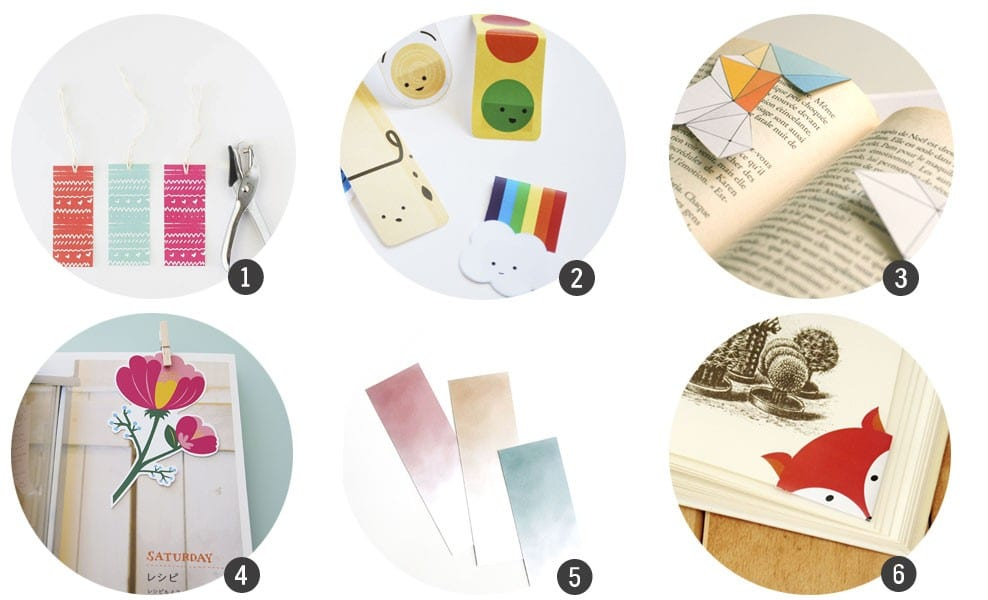12 marcapáginas listos para imprimir