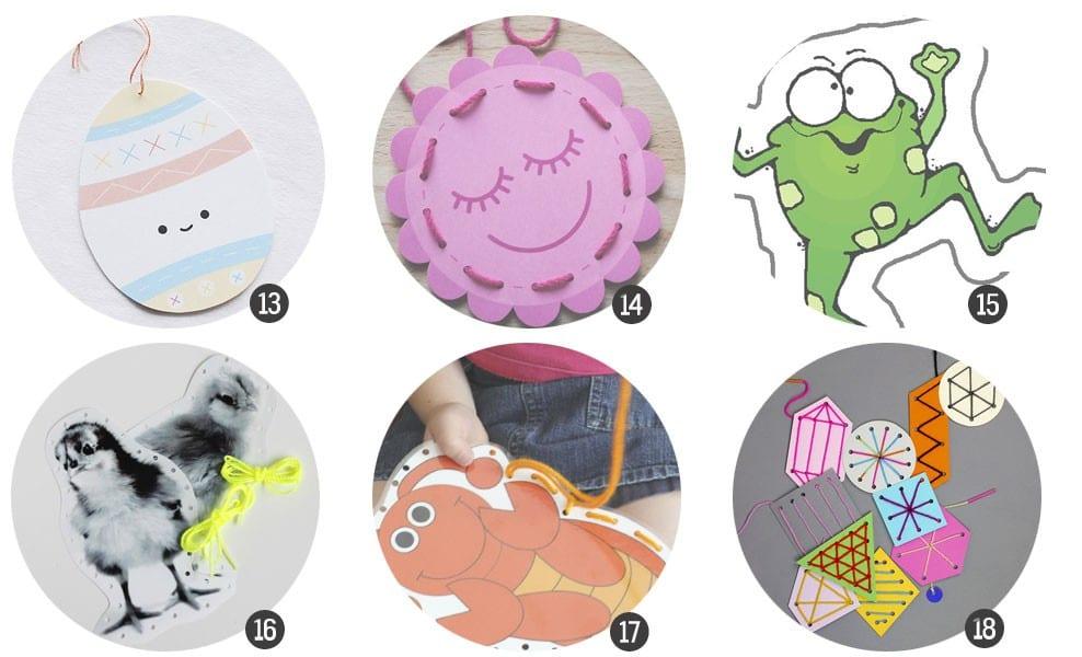 Aprender jugando: 18 tarjetas para iniciarse y practicar la costura listas para imprimir / blog.cosasmolonas.com